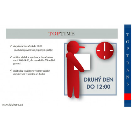 TOPTIME - doručeni do 12:00