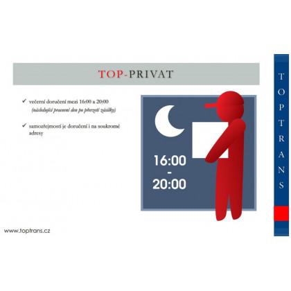 TOP-PRIVAT - (večerní doručení 16:00 - 20:00 hod.)