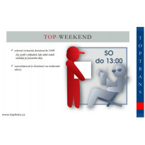 TOP-WEEKEND (sobotní doručení do 13:00 hod)